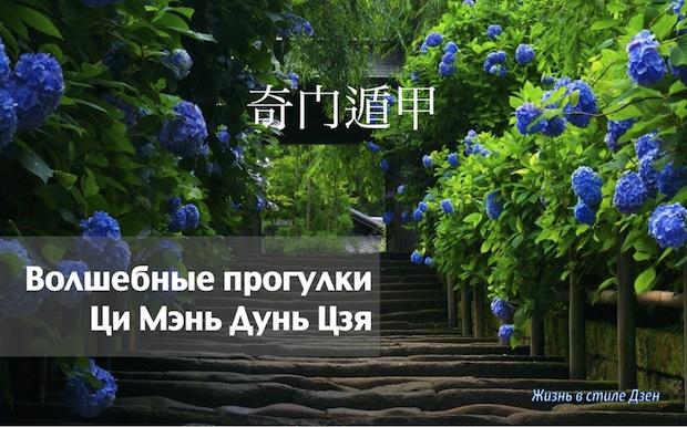 Индивидуальный прогулки Ци Мэнь Дунь Цзя