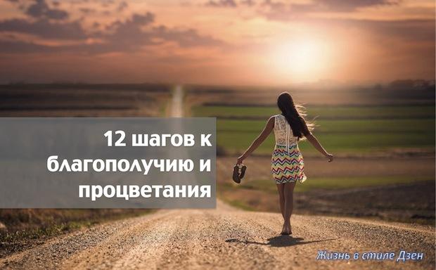 12 шагов к благополучию и процветанию