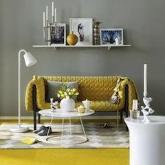 Желтый цвет в интерьере по Фэн-шуй