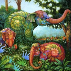 Kris Surajaroenjai, elephant